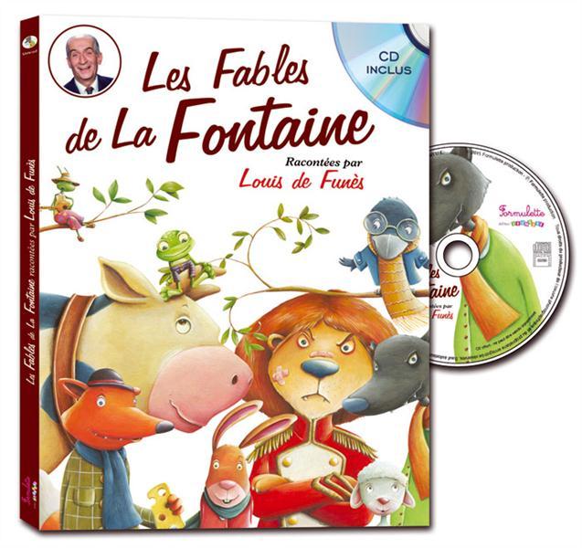 Les fables de la Fontaine racontées par Louis de Funès