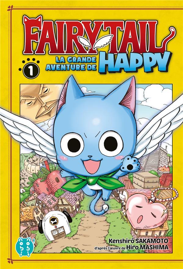 Fairy Tail - la grande aventure de Happy t.1