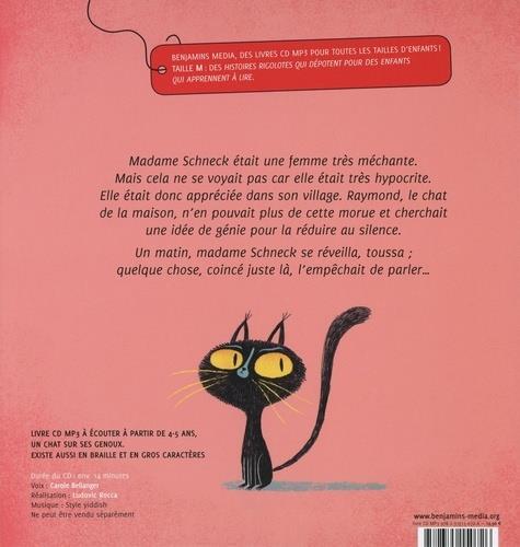 Un chat dans la gorge