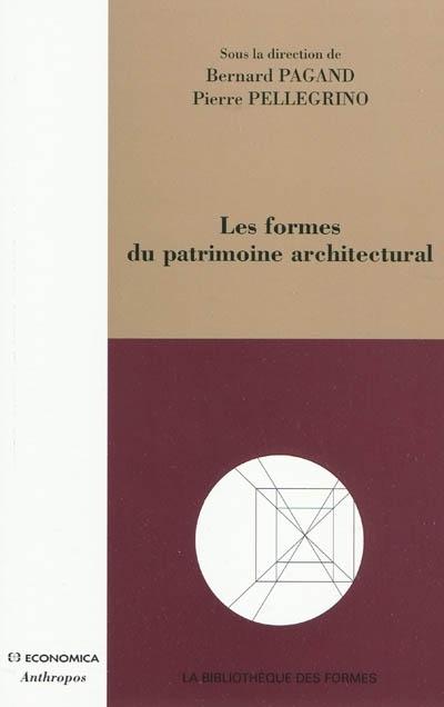 Les  formes du patrimoine architectural