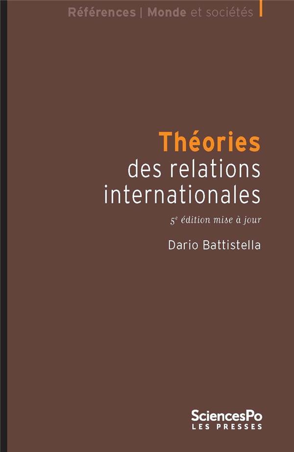 Théories des relations internationales (5e édition)
