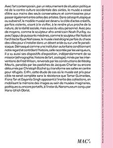 Dits n.22 ; musees pour cible