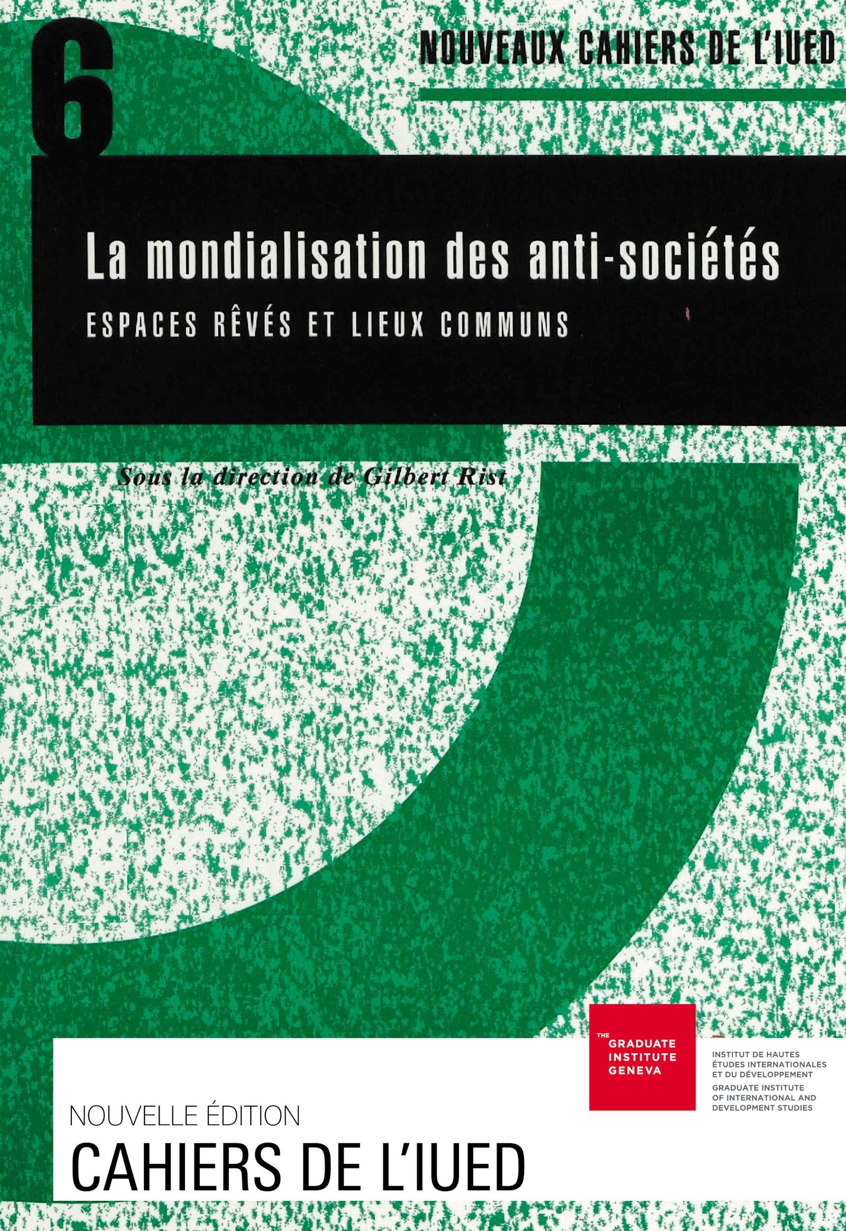 Mondialisation des anti-societes n.6