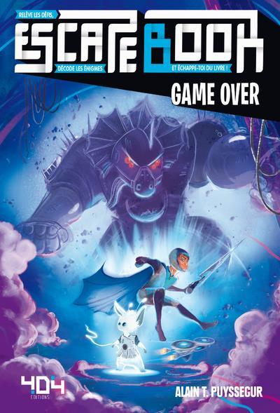 Escape book ; game over