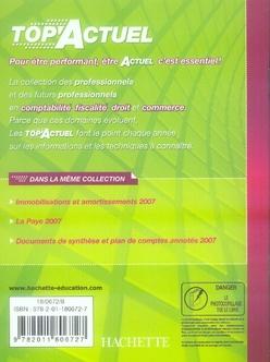 Top'actuel ; fiscalité (édition 2007)