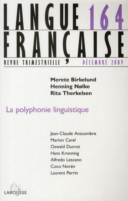 La polyphonie linguistique