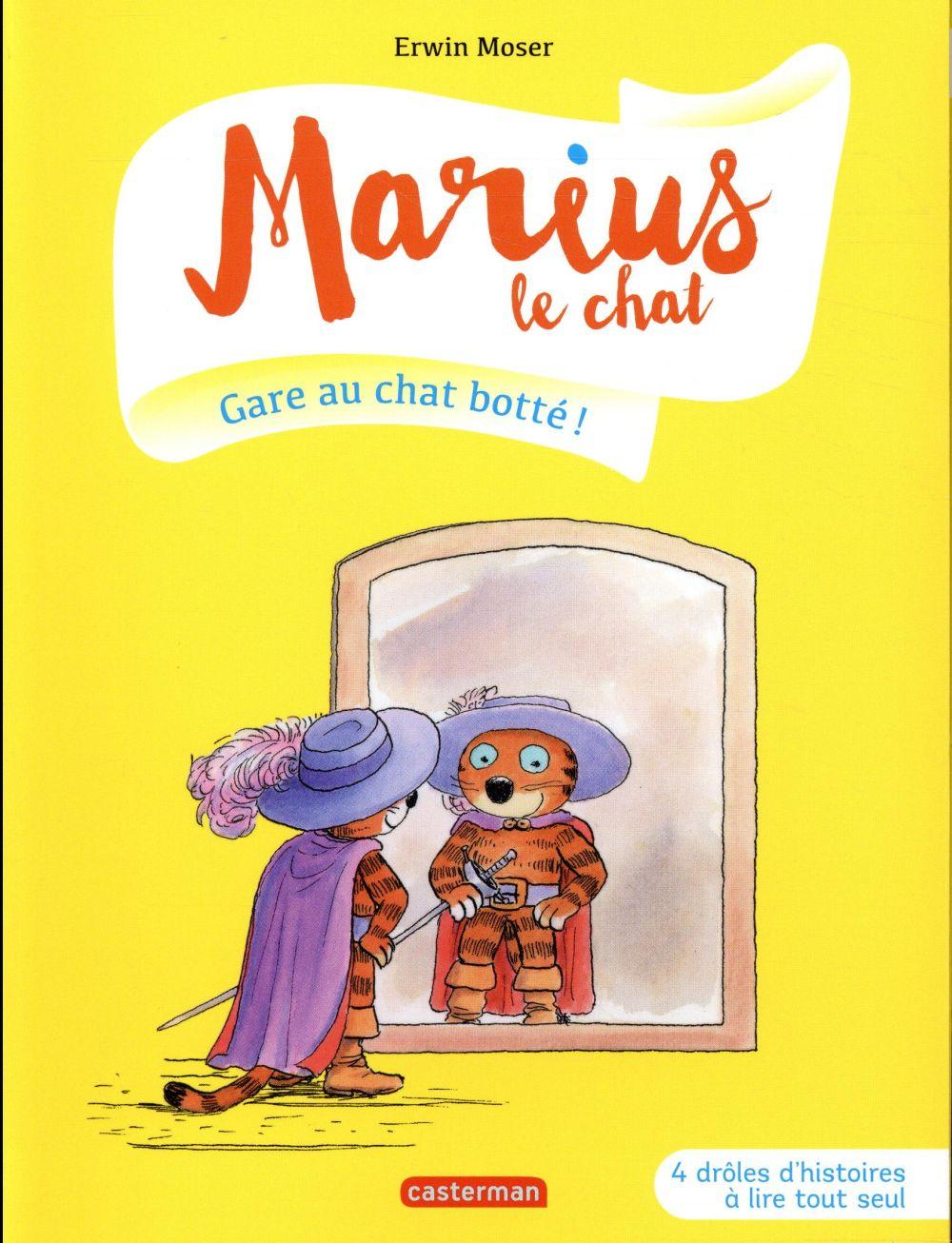 Marius le chat T.8 ; gare au chat botté !