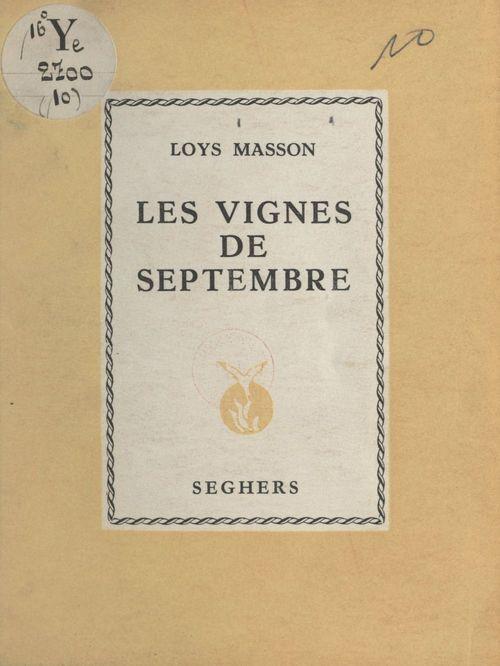 Les vignes de septembre