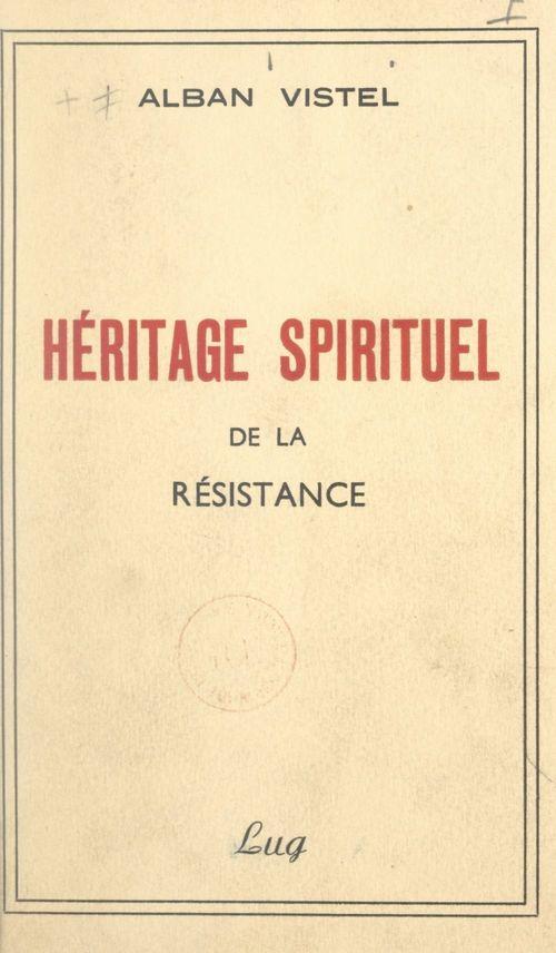 Héritage spirituel de la Résistance
