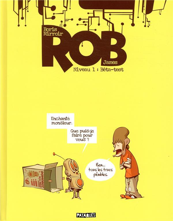 ROB NIVEAU T01 - BETA-TEST JAMES