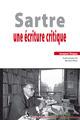 Sartre ; une écriture critique  - Jacques Deguy