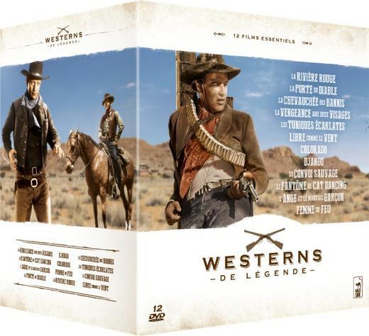 Coffret westerns de légende - 12 DVD