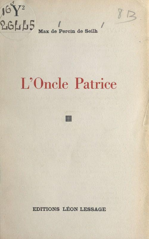 L'oncle Patrice