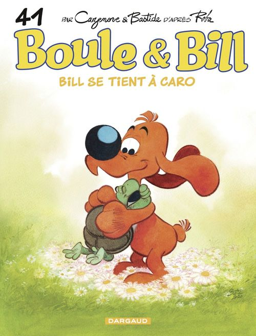Boule & Bill t.41 ; Bill se tient à Caro
