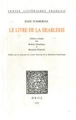 Le Livre de la Deablerie