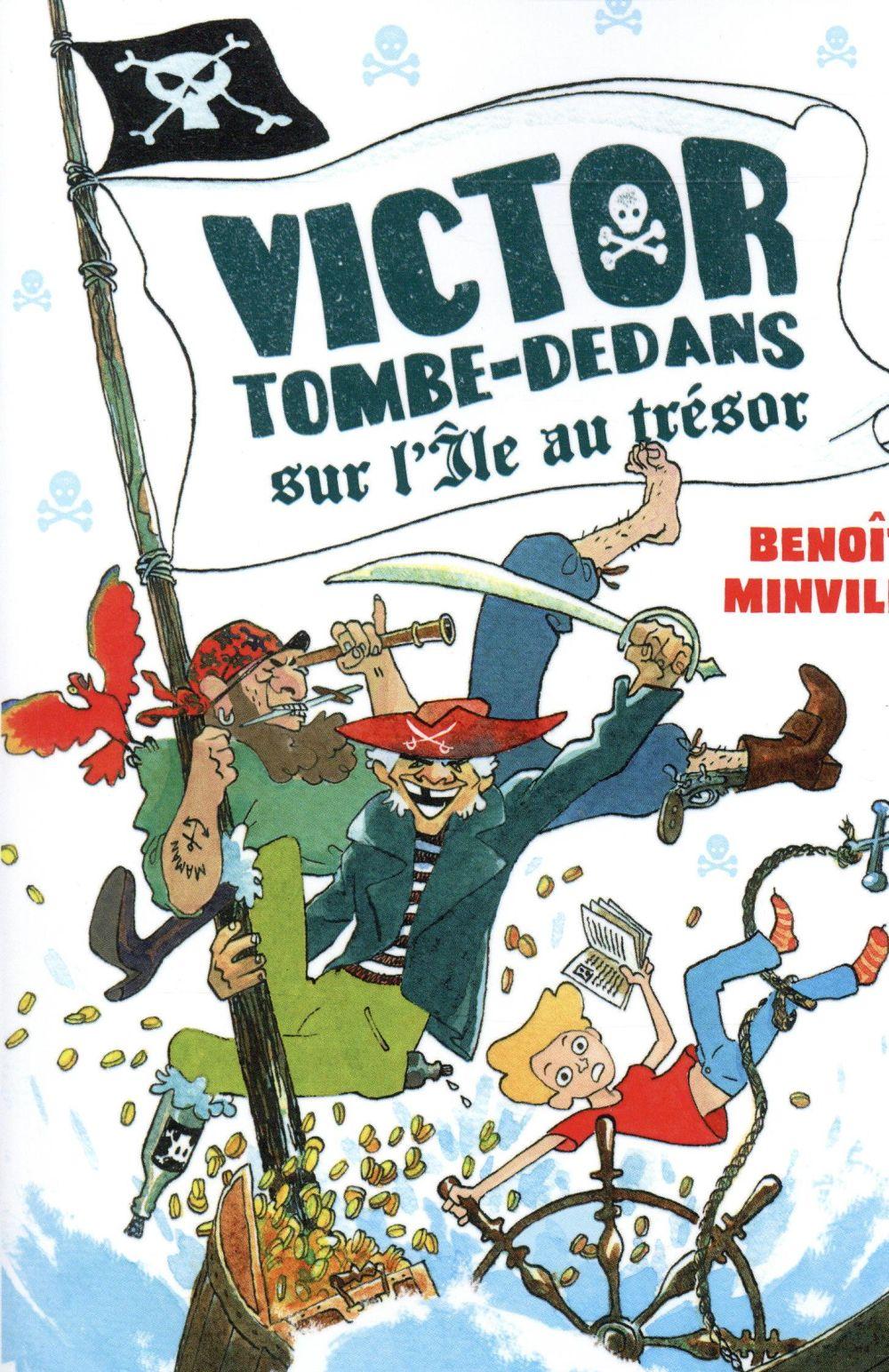 Victor Tombe-Dedans sur l'île au trésor