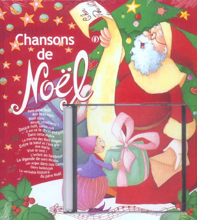 Chansons de noel + cd