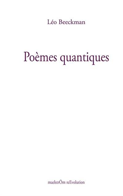 Poèmes quantiques