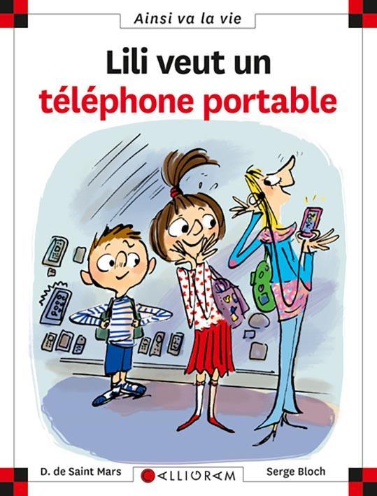 LILI VEUT UN TELEPHONE PORTABLE