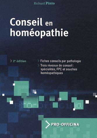 Conseil En Homeopathie 2eme Edition