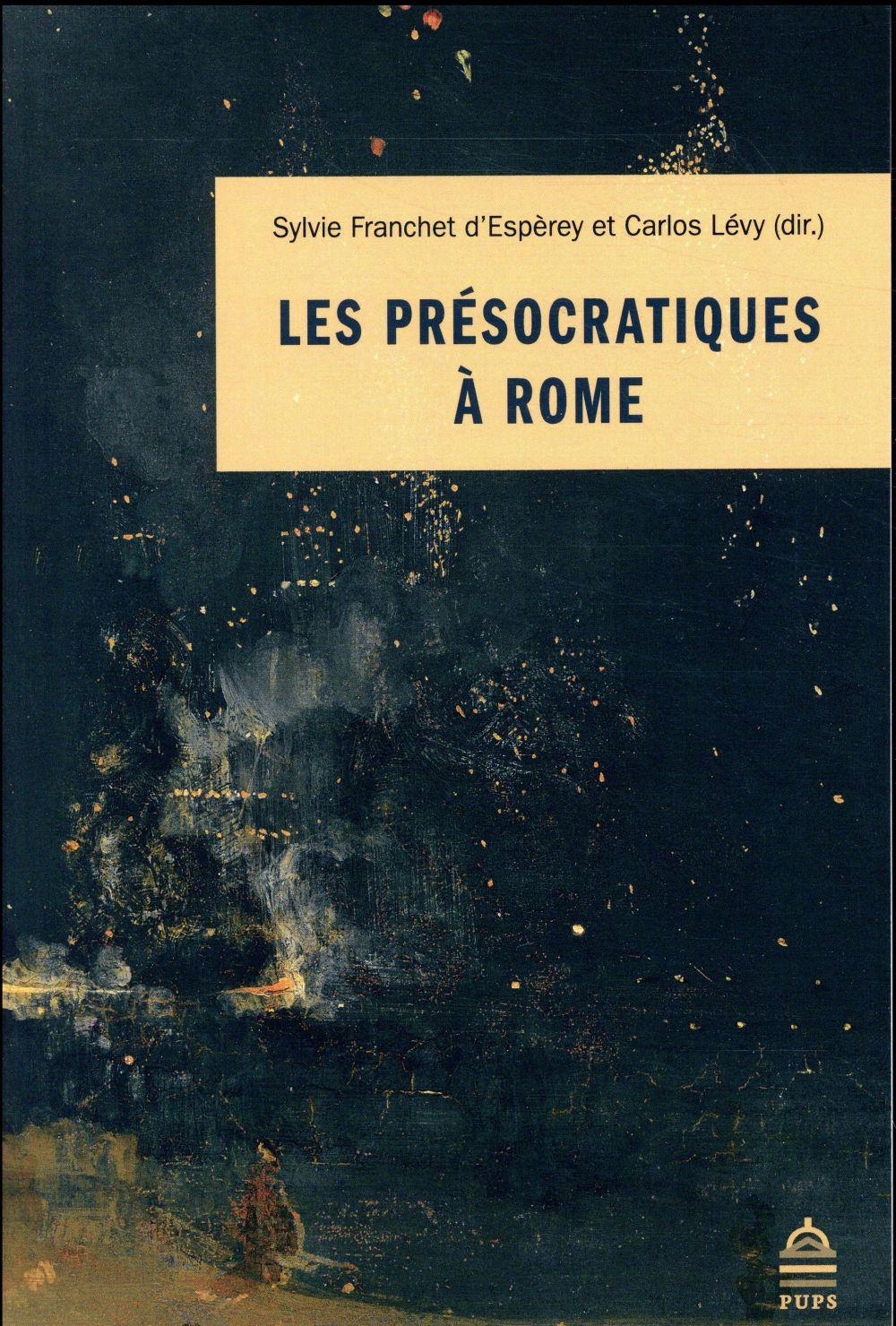 Les présocratiques à Rome