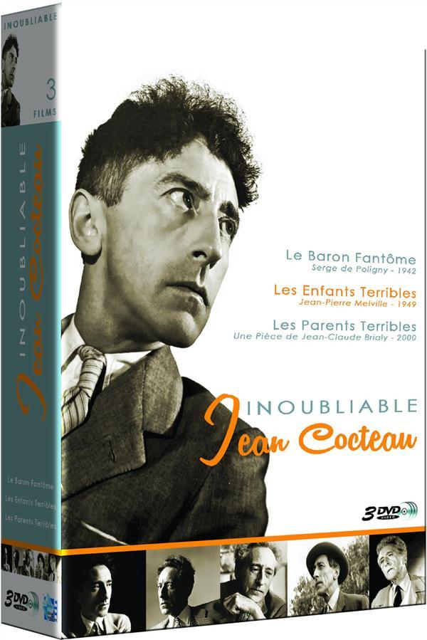 Inoubliable Jean Cocteau : Les enfants terribles + Les Parents terribles + Le baron fantôme