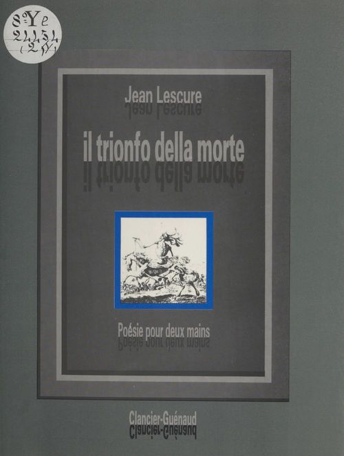 «Il trionfo della morte» : poésie pour deux mains