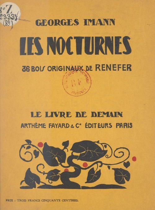 Les nocturnes  - Georges Imann