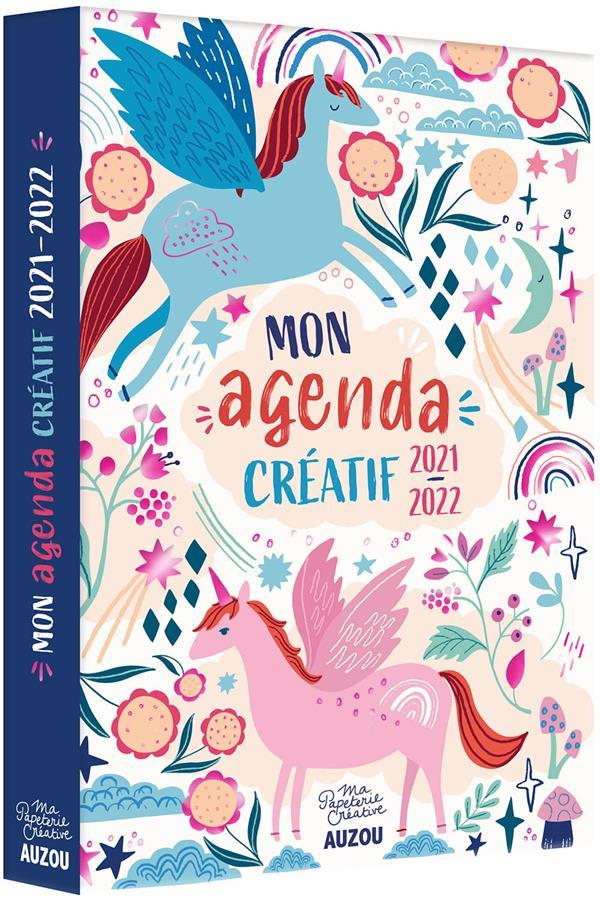 Mon agenda créatif à colorier (édition 2021/2022)
