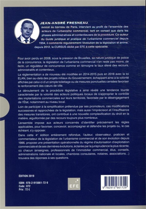 Urbanisme commercial ; guide juridique et pratique