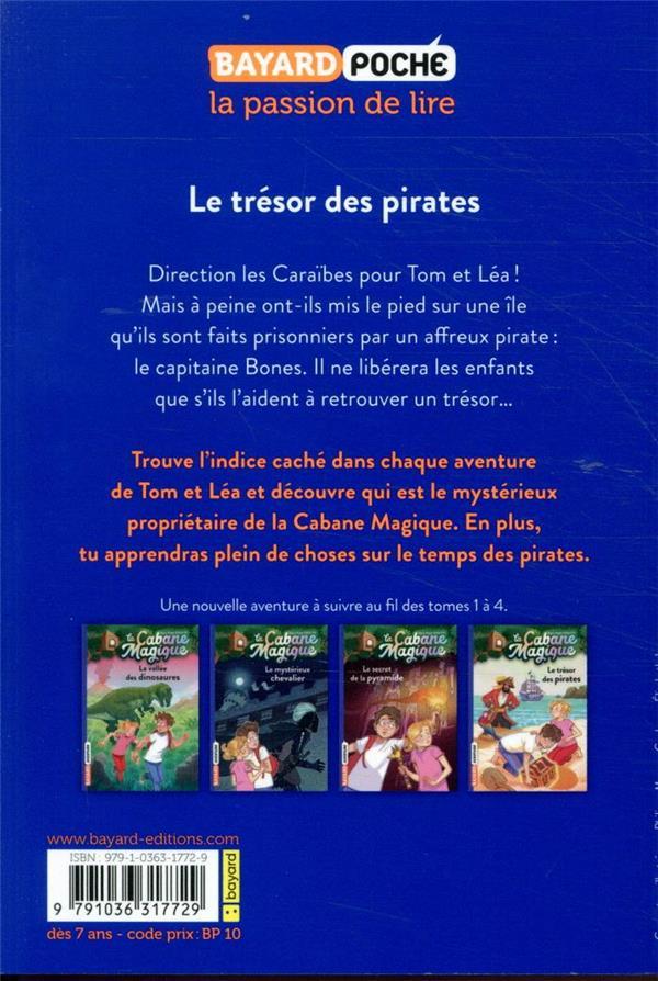 La cabane magique t.4 ; le trésor des pirates
