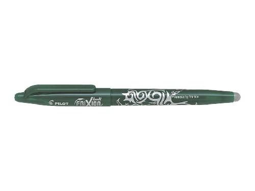 Roller encre gel effaçable - PILOT® - FriXion Ball - Vert - Pointe moyenne