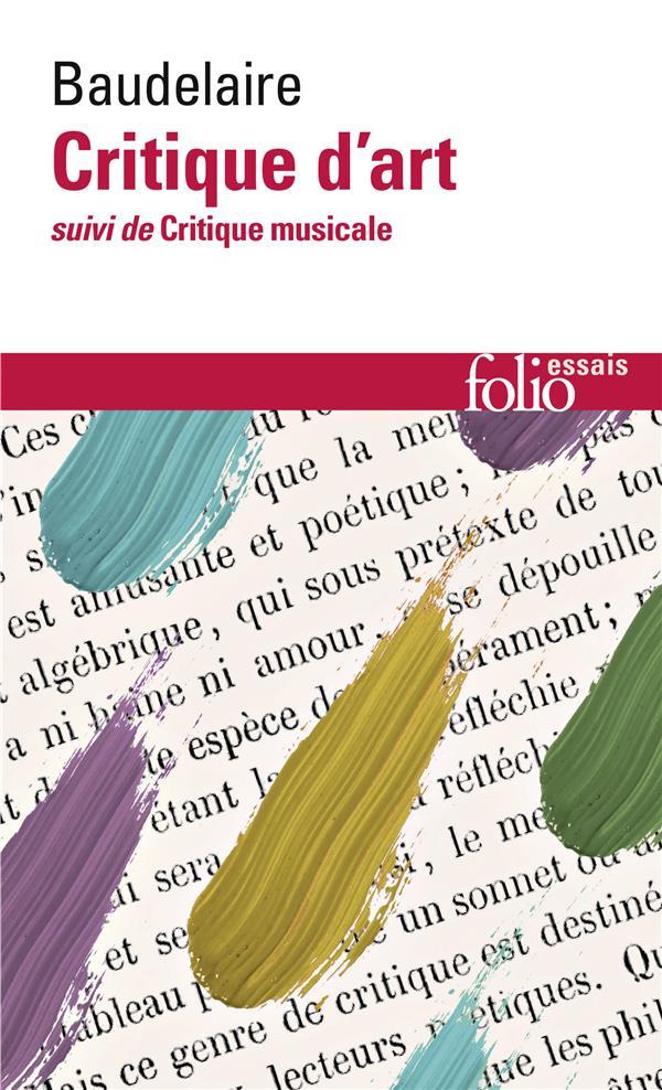 critique d'art ; critique musicale