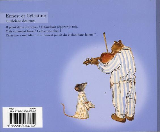 Ernest et Célestine ; musiciens des rues