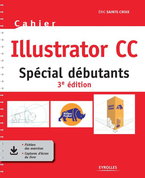 Cahier illustrator cc - special debutants