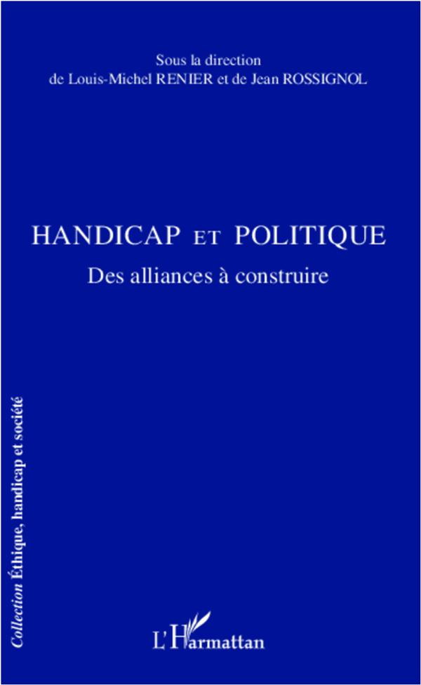 Handicap et politique ; des alliances à construire