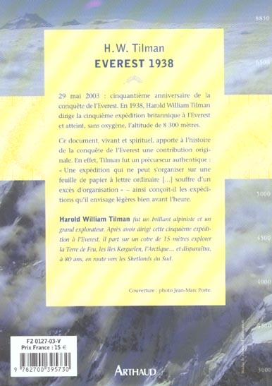 everest, 1938