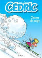 Couverture de Cédric t.2 ; classes de neige