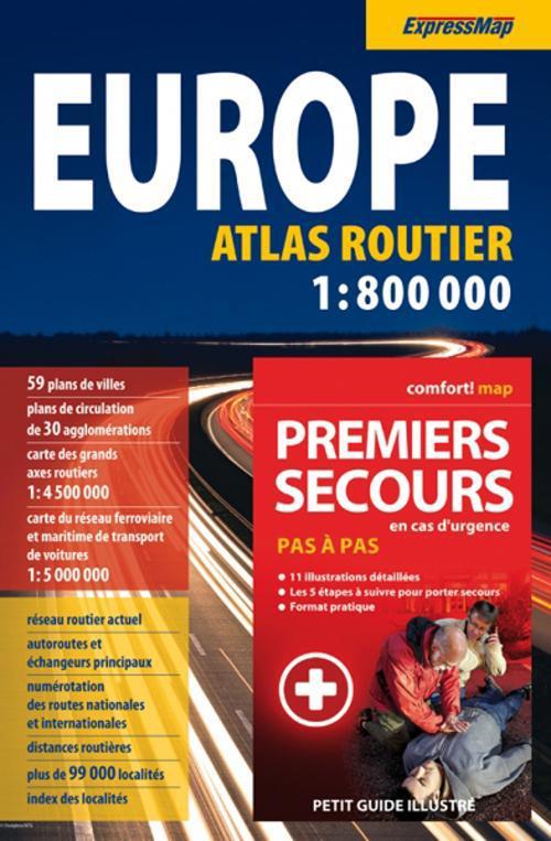 Atlas routier europe + premiers secours