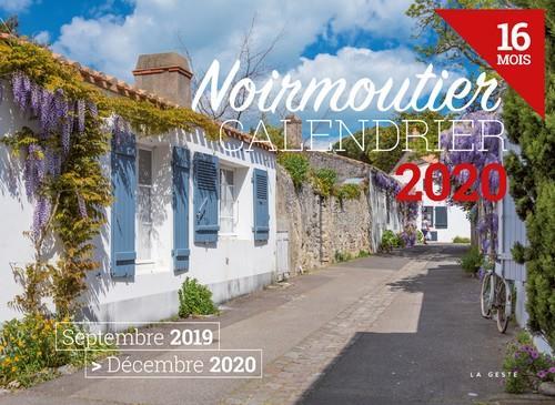 Calendrier 2020 ; Noirmoutier