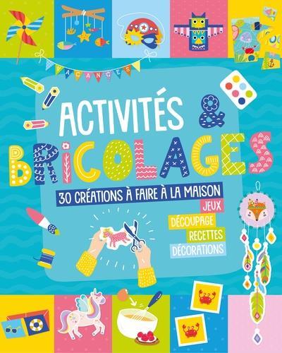 Mon livre d'activites et de bricolage