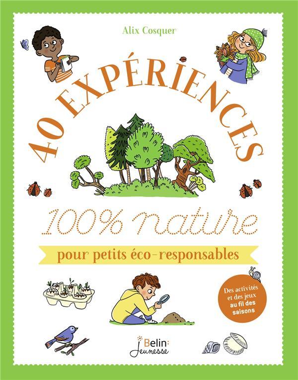 40 experiences 100 % nature pour petits éco-responsables