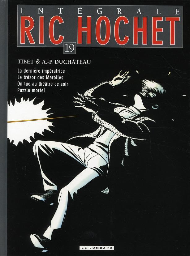 Ric Hochet ; INTEGRALE VOL.19