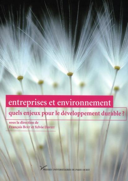 Entreprises et environnement ; quels enjeux pour le dévéloppement durable ?