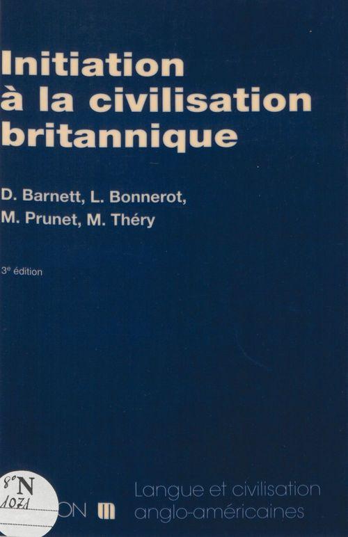 Barnett,init.civilis.britannique 3ed