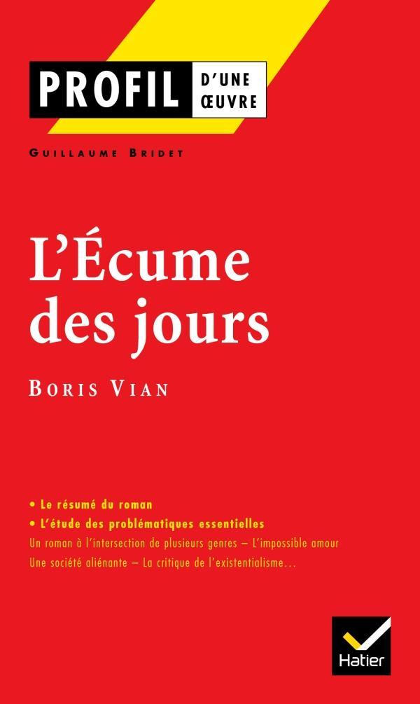 VIAN-B - L'ECUME DES JOURS, DE BORIS VIAN