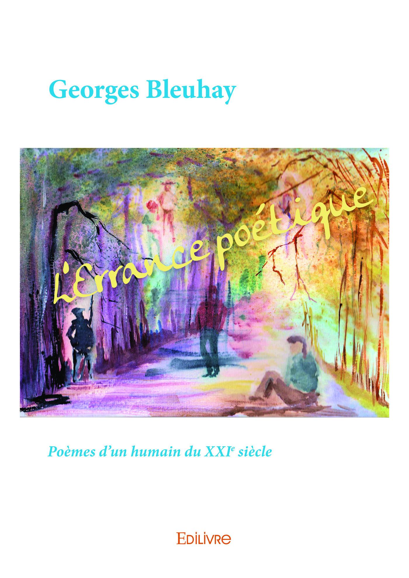 L'errance poétique ; poèmes d'un humain du XXIe siècle