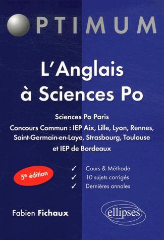 Les épreuves d'anglais à sciences po (5e édition)