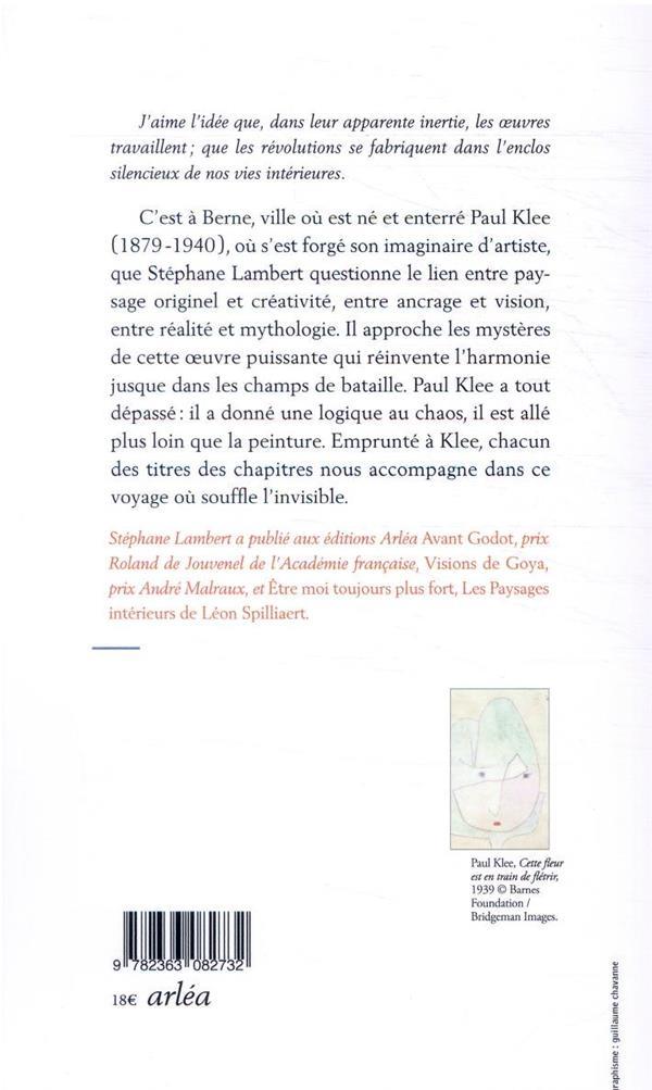 Paul Klee, jusqu'au fond de l'avenir