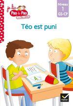 Vente Livre Numérique : Téo et Nina GS-CP Niveau 1 - Téo est puni  - Marie-Hélène Van Tilbeurgh - Isabelle Chavigny